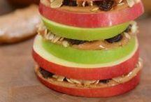 Preschool Snack Ideas / Fun & nutritious ways to feed your kiddos!