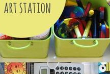 Kid Spaces / Spaces designed & organized with kids in mind