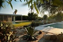 Richard Neutra's Miller House / Catherine Meyler purchased and began restoring this Palm Springs, CA house in 2000.