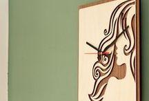 Klokken van hout / De mooiste houten klokken die de kamer helemaal af maken