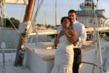 """Chesapeake Bay Maritime Museum Wedding/St. Michaels Maryland Wedding Video / Beautiful summer wedding in St. Michaels. The Chesapeake Bay Maritime Museum is a  great Eastern Shore wedding venue.(All """"photos"""" are freezes from our video recording.) http://www.phyllismarshvideo.com/"""
