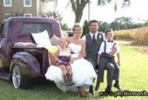 """Rustic Wedding on Maryland's Eastern Shore/Eastern Shore Videographer / Beautiful late summer wedding on a farm in Dorchester County, Maryland. http://www.phyllismarshvideo.com/ (Any """"photos"""" are freezes from our video footage.)"""