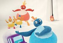 Meet the Twirlywoos! / Great BigHoo, Toodloo, Chickedy and Chick! Not forgetting Peekaboo on the Big Red Boat with the Quacky Birds.