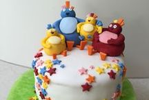 Twirlywoos Cakes / Tasty looking Twirlywoos cakes made for little Twirly fans!