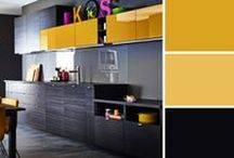 Quelle couleur pour la cuisine ? / Quelques idées déco pour choisir la couleur de votre future cuisine.