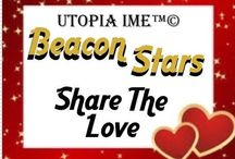 BEACON STARS SHARE THE LOVE / LET'S SHARE THE LOVE with each other and someone in need. This Valentine's Day UTOPIA I.M.E. ™© asks All BEACON STARS to share posts with each other and share acts of kindness with someone ill, in a nursing home, the homeless and our for legged friends etc...Any photos, film or experiences on these acts of kindness are welcome. Lets share the love and kindness. Ivet and Maria UTOPIA I.M.E. ™©