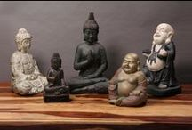 Buddha Collection / We have an extensive collection of #giftware with an #Oriental #theme, including Chinese and Thai #Buddha #statues as well as #Monk and #Ganesha #Gifts. #giftideas #homedecor