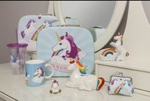 Unicorn Enchanted Rainbow / Magical #unicorn collection of  #accessories and #giftware. #giftideas