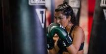 Chantelle x Title Boxing Club NYC Event / The Chantelle Sports Bra is put to the test with a high intensity class at TITLE Boxing Club NYC. #WorkoutWithChantelle