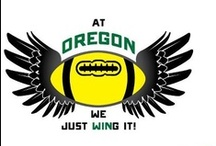 U of O Football / Our family are definitely huge Duck fans. A surge of energy goes through our house when the college football season begins...GO DUCKS!!! Please visit me at www.SWpdx.net