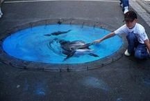 3D Street Art with Impact / 3D street art that not only impresses, but has impact! / by Asphalt Art USA