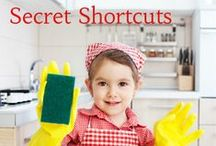 Cleaning Shortcuts / If you're looking for some fresh air in your cleaning routine, try some of these DIY cleaning supply recipes or house cleaning lists.