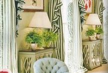 Green & White Decor / by DoraDeansBlog
