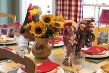Sunflowers Decor / by DoraDeansBlog