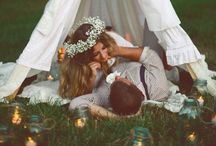 Wedding inspiration / In love and inseparable.