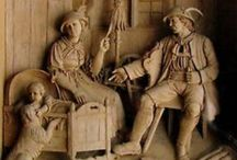 Wood Carvings / by Kathy Fiechter