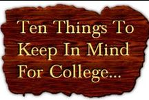 College  / Everything college - the who, what, when, where, why, and how!