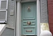 Doors and Their Hardware / Entryways that make you take notice.