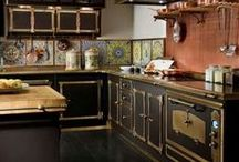 Anything But Ordinary Kitchens / These are beautifully designed rooms with incredible hardware.