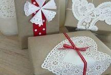 Упаковка, оформление подарка