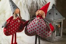 Новогодние куклы и игрушки