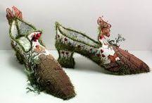 Sko / Shoes / Spændende sko jeg gerne selv ville kunne lave, & måske jeg kan....