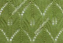 Вязание спицами - узоры