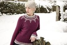 Многоцветное вязание - модели