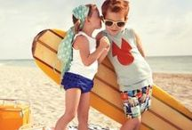 Kids of Summer / Summer time, chill time! Cool look for summer for little boys and girls! Children's Fashion with Milan and Oz