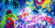 ABSTRACT PAINTINGS / Abstract art, abstract painting