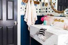 bathroom inspo / Bathroom inspiration and decoration ideas.