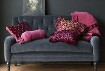 romantic winter tones - dark gray and pink / גוונים מפנקים של אפור וורוד מזמינים התכרבלות נעימה ורומנטית