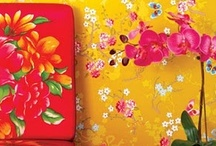 floral patterns - different look / שמח ופורח - להכניס את האביב הביתה