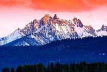 """the great idaho / My family has lived in Idaho for 150 years and I truly believe it is one of the most beautiful places on earth. There's tons of natural beauty here and many activities to enjoy it. If you want to become a contributor to this board email me at digitalloon@hotmail.com and I'll send you an invite. You can add other pinners by going to """"edit"""" on the board and sending them an invite!"""