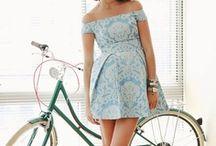 DAY DRESSES / Day sunny spring dresses.