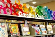 Library programming, promotion and display inspiration! / Collection of ideas for library displays, library promotion and marketing, and library programs.