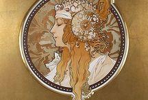 Alphonse Maria Mucha / De schilder Alphonse Mucha