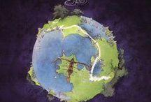 Roger Dean / De grafisch ontwerper Roger Dean (bekend van Yes albums)