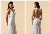Gowns /  wedding, evening, prom_ crochet, sew. etc. / by Flida Burina-Gershina