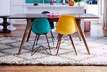Interiors- COLOUR! / from subtle splashes to in your face colour...