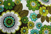 Fabric / Gorgeous vintage and retro textiles
