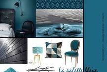 Inspiration Palette Bleue by Aur'Décor / Faîtes le grand saut et plongez au coeur de la Palette Bleue...