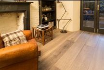 Rustic Oak Flooring Ideas / Rustic oak flooring ideas and inspiration. Give your new kitchen, lounge or interior floor an authentic rustic feel.