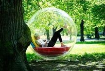 Reading Nooks / From libraries and bookstores to private indoor and outdoor spaces, here are some great places to curl up with a book.