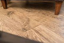 Hand aged engineered oak flooring / Hand aged engineered oak flooring.
