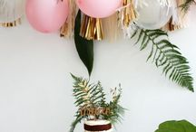 Party ideas and inspo