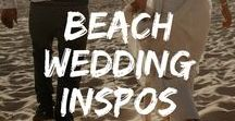 Beach wedding inspirations / Inspirations pour un mariage à la plage - beach wedding inspirations  #mariage #plage #beach #wedding #inspo