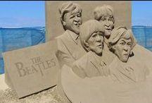 Sand Sculptures / MADE FROM 100% Sand Sculptures