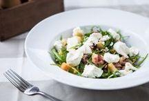 Saláty / Saláty všech druhů od našeho šéfkuchaře.