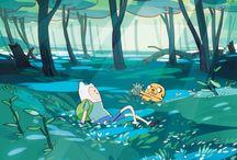 Adventure Time / Slam a cow!-Finn the Human / by яυву gяєєиє